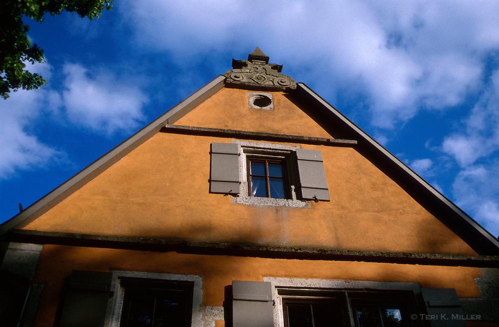 Medieval building, Rothenburg, Germany