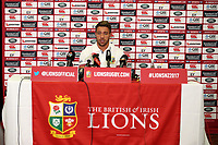 Rugby Union - 2017 British & Irish Lions Tour of New Zealand - Warren Gatland Press Conference<br /> <br /> Rhys Webb talks to the press, Auckland. <br /> <br /> COLORSPORT/LYNNE CAMERON