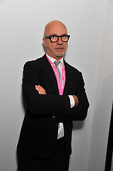 NIGEL COATES at the judging of the Moet Hennessy PAD  London Prize 2011 as part of the Pavilion of Art & Design  held in Berkeley Square, London on 10th October 2011.