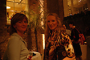 Mrs. George Osborne and  Princess Michael of Kent. Book party for LAST VOYAGE OF THE VALENTINA by Santa Montefiore (Hodder & Stoughton) Asprey,  New Bond St. 12 April 2005. ONE TIME USE ONLY - DO NOT ARCHIVE  © Copyright Photograph by Dafydd Jones 66 Stockwell Park Rd. London SW9 0DA Tel 020 7733 0108 www.dafjones.com