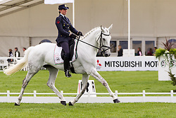 Vittoria Panizzon (ITA) and Borough Pennyz compete in the dressage test during the first day of the 2013 Mitsubishi Motors Badminton Horse Trials.  Friday 03  May  2013.  Badminton, Gloucs, UK..Photo by: Mark Chappell/i-Images