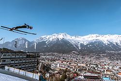 23.02.2019, Bergiselschanze, Innsbruck, AUT, FIS Weltmeisterschaften Ski Nordisch, Seefeld 2019, Skisprung, Herren, im Bild Robert Johansson (NOR) // Robert Johansson of Norway during the men's Skijumping of FIS Nordic Ski World Championships 2019. Bergiselschanze in Innsbruck, Austria on 2019/02/23. EXPA Pictures © 2019, PhotoCredit: EXPA/ Dominik Angerer