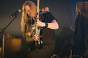 Photos of the Icelandic metal band Skálmöld performing  'Baldur' live at Borgarleikhúsid on April 23, 2014 in Reykjavík, Iceland. Copyright © 2014 Matthew Eisman. All Rights Reserved