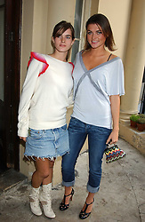 Left to right, JADE DAVIDSON and her sister HOLLY DAVIDSON sister of Sadie Frost at Michele Watches Kaleidoscope Summer Garden Party held at Home House, Portman Square, London on 15th June 2005.<br /><br />NON EXCLUSIVE - WORLD RIGHTS