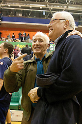 Leopold Jaras during memorial game between EX-National teams of Slovenia and Croatia that played at Summer Olympics games Sydney 2000 as a tribute to former Slovenian and Croatian handball player Iztok Puc. He was one of the world's top handball players of the 1980s and 1990s. He died of leukemia on October 20, 2011 during treatment in USA, 46-years old. The humanitarian event was held on November 5, 2011 in Arena Zlatorog, Celje, Slovenia. (Photo by Urban Urbanc / Sportida Photo Agency)