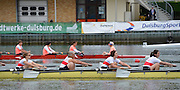 Duisburg, GERMANY.  FISA Masters World Championship. .Wedau Regatta Course .13:34:42  Thursday  06/09/2012   ..[Mandatory Credit Peter Spurrier:  Intersport Images]  ..Rowing, Masterss, 2012010458.jpg...