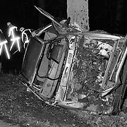 Ongeval met beknelling Hilversumsestraatweg Baarn, 2 gewonden