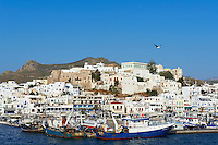 Grece, Cyclades, ile de Naxos, ville de Hora (Naxos) // Greece, Cyclades islands, Naxos, city of Hora (Naxos)