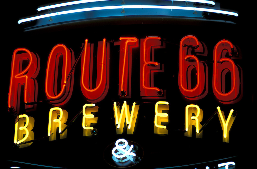 Route 66 Brewery, Route 66,.St.Louis, Missouri, USA