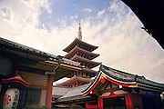 Sensoji (also known as Asakusa Kannon Temple) is a Buddhist temple located in Asakusa, Tokyo Japan.<br />