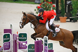 Deslauries Mario (USA) - Urico<br /> Rolex FEI World Cup Final - Geneve 2010<br /> © Dirk Caremans