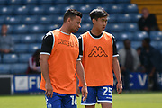 Bury Midfielder, Tsun Dai (25) and Bury Midfielder, Zeli Ismail (16)  during the EFL Sky Bet League 1 match between Bury and Walsall at the JD Stadium, Bury, England on 5 August 2017. Photo by Mark Pollitt.