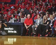 "Steve Davenport at the C.M. ""Tad"" Smith Coliseum in Oxford, Miss. on Tuesday, February 1, 2011. Ole Miss won 71-69."