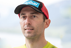 23.05.2016, Hotel Ambach, Kaltern, AUT, OeSV, Nordische Kombination, Trainingslager, im Bild Willi Denifl (AUT) // Willi Denifl of Austria during a Photocell of Austrian Ski federation Nordic Combined Team at the Hotel Ambach, Kaltern, Italy on 2015/05/23. EXPA Pictures © 2016, PhotoCredit: EXPA/ Johann Groder