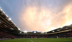 General view of the ground during the Premier League match at St Mary's Stadium, Southampton.