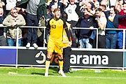 Port Vale forward Richard Bennett celebrates his goal during the EFL Sky Bet League 2 match between Salford City and Port Vale at Moor Lane, Salford, United Kingdom on 17 August 2019.