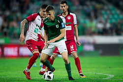 Nik Kapun of NK Olimpija Ljubljana during football match between NK Aluminij and NK Olimpija Ljubljana in the Final of Slovenian Football Cup 2017/18, on May 30, 2018 in SRC Stozice, Ljubljana, Slovenia. Photo by Vid Ponikvar / Sportida