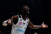 BrownJohn <br /> Umana Reyer Venezia - Happy Casa Brindisi<br /> LBA Final Eight 2020 Zurich Connect - Finale<br /> Basket Serie A LBA 2019/2020<br /> Pesaro, Italia - 16 February 2020<br /> Foto Mattia Ozbot / CiamilloCastoria