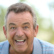 Golfer Tony Jacklin