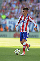 Atletico de Madrid´s Antoine Griezmann during 2014-15 La Liga match between Atletico de Madrid and FC Barcelona at Vicente Calderon stadium in Madrid, Spain. May 17, 2015. (ALTERPHOTOS/Luis Fernandez)