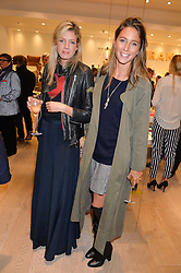 LUCY CARR-ELLISON and JEMIMA GOLDSMITH at the launch of the Conran Shop at Selfridge's, Oxford Street, London on 22nd September 2015.