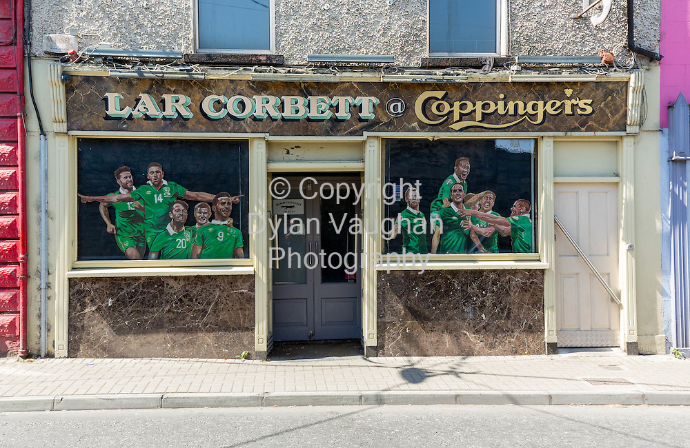 19-7-16<br /> <br /> Lar Corbett's bar in Thurles Co. Tipperary.<br /> Picture Dylan Vaughan