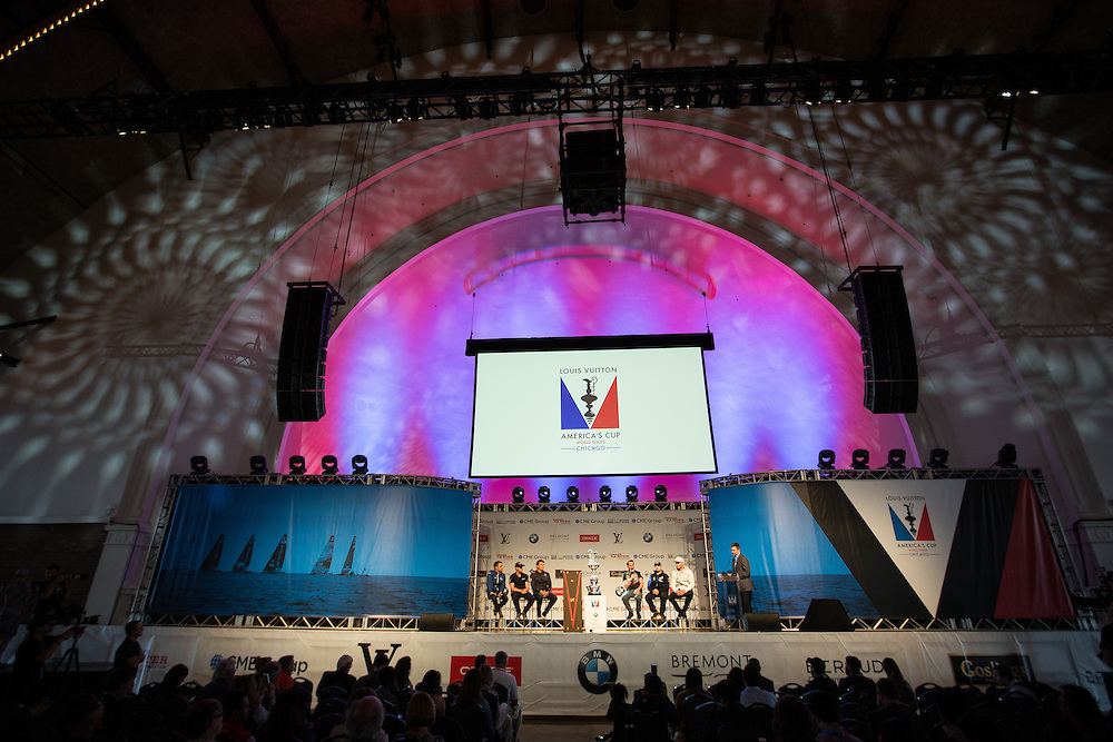Louis Vuitton America's Cup World Series Match Race Chicago<br /> <br /> www.AdamAlexanderPhoto.com<br /> ©Adam Alexander Photography 2016
