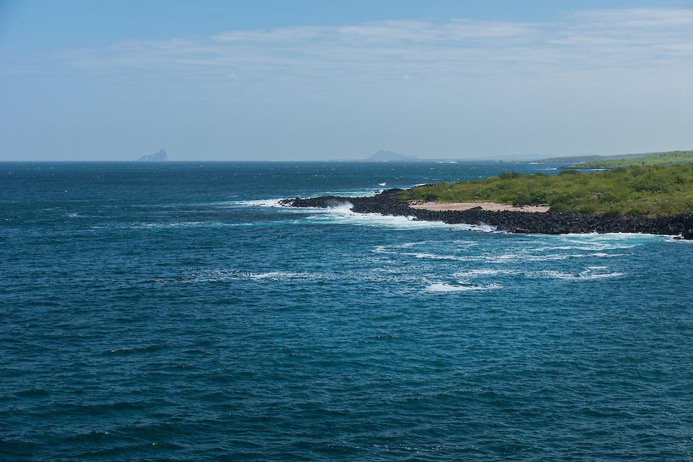 Shoreline of San Cristobal, Galapagos, Ecuador.