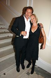 MATTHEW FREUD and MARIELLA FROSTRUP at The Hospital Awards - to honour talent in the creative industry, held at 9 Grosvenor Place, London on 3rd october 2006.<br /><br />NON EXCLUSIVE - WORLD RIGHTS
