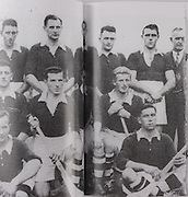 Cork-All-Ireland Hurling Champions 1941. Back Row: Jim Barry (Trainer), C Buckley (capt), M Brennan, A Lotty, J Lynch, B Thornhill, J Barrett, T O'Sullivan, W Walsh (Chairman). Middle Row: W Campbell, D J Buckley, J Buttimer, J Quirke, W Murphy, J Young. Front Row: C Ring, C Cottrell.