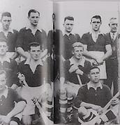 Cork-All-Ireland Hurling Champions 1941. Back Row: Jim Barry (Trainer), C Buckley (capt), M Brennan, A Lotty, J Lynch, B Thornhill, J Barrett, T O'Sullivan, W Walsh (Chairman). Middle Row: W Campbell, D J Buckley, J Buttimer, J Quirke, W Murphy, J Young. Front Row: C Ring, C Cottrell.