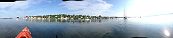 Castine Panoramic, Castine, Maine, US