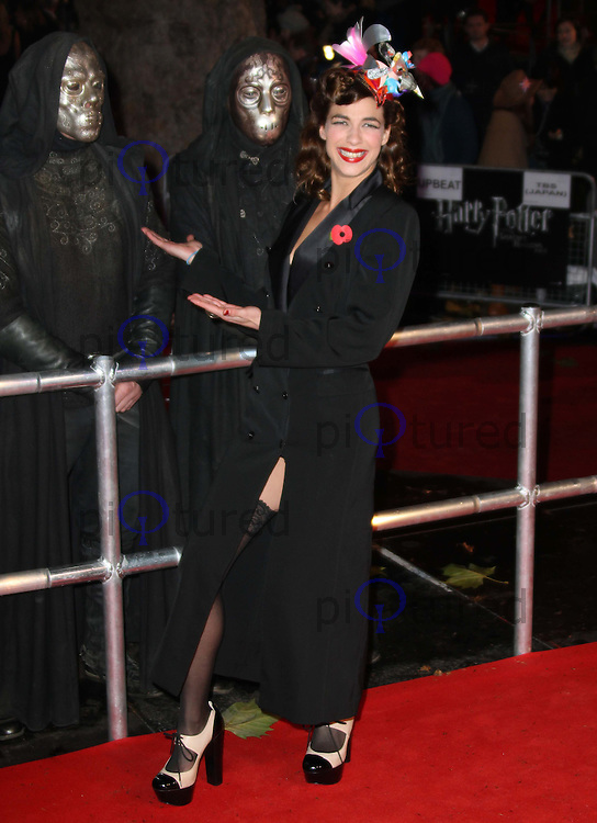 Natalia Tena Harry Potter And The Deathly Hallows Part 1 World Premiere, Leicester Square Gardens, London, UK, 11 November 2010: piQtured Sales: Ian@Piqtured.com +44(0)791 626 2580 (picture by Richard Goldschmidt)