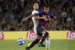 October 24, 2018 - Barcelona, Catalonia, Spain - Rafinha during the UEFA Champion Leage match between FC Barcelona and Internazionale Milano at Camp Nou Stadium in Barcelona, Catalonia, Spain on October 24, 2018  (Credit Image: © Miquel Llop/NurPhoto via ZUMA Press)