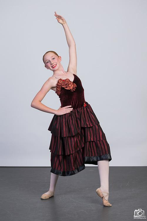 Dance Connection Palo Alto Nutcracker Photo Day photographed in Palo Alto, California, on October 28, 2017. (Stan Olszewski/SOSKIphoto)