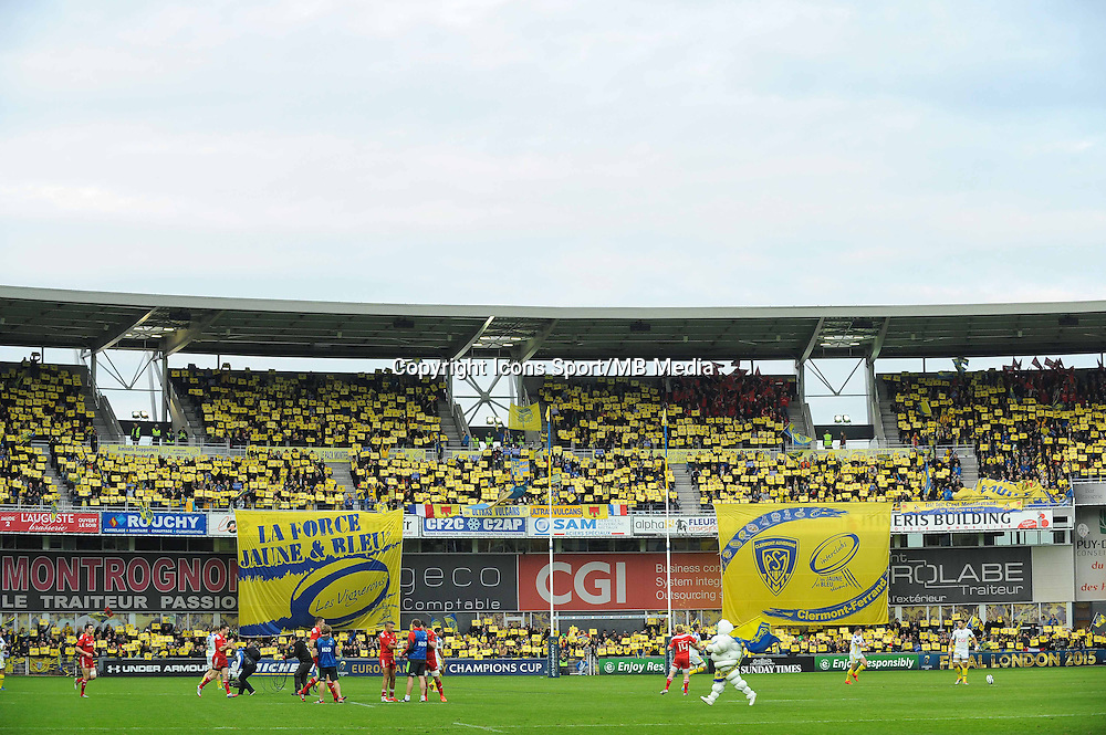 Stade Marcel Michelin - 14.12.2014 - Clermont / Munster - European Champions Cup <br /> Photo : Jean Paul Thomas / Icon Sport