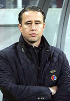 Fotball<br /> Steaua<br /> Foto: imago/Digitalsport<br /> NORWAY ONLY<br /> <br /> 21.02.2013  <br /> Bucharest (Romania) FC Steaua Bucuresti - FC Ajax Europa League men football Laurentiu Reghecampf FC Steaua coach