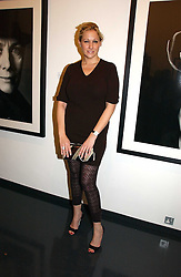 AMY SACCO at a private view of an exhibition of portrait photographs by Danish photographer Marc Hom held at the Hamiltons Gallery, 13 Carlos Place, London on 23rd October 2006.<br /><br />NON EXCLUSIVE - WORLD RIGHTS