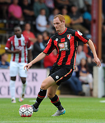 Bournemouth's Shaun MacDonald - Photo mandatory by-line: Harry Trump/JMP - Mobile: 07966 386802 - 18/07/15 - SPORT - FOOTBALL - Pre Season Fixture - Exeter City v Bournemouth - St James Park, Exeter, England.