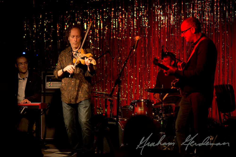 """The Silvermen"" show at the Stone Fox in Nashville, TN - featuring the Jack Silverman Ordeal with guest Tracy Silverman (violin)"