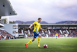 March 28, 2017 - Funchal, Madeira, Portugal - 6. Viktor Claesson who made two goals,..Sweden defeated Portugal 3-2 in a friendly game at Estadio do Maritimo, Madeira, Portugal 2017-03-28..(c) ERICSSON MARCUS  / Aftonbladet / IBL BildbyrÃ¥....* * * EXPRESSEN OUT * * *....AFTONBLADET / 85729 (Credit Image: © Aftonbladet/IBL via ZUMA Wire)
