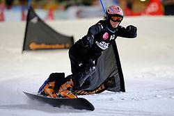 10-10-2010 SNOWBOARDEN: LG FIS WORLDCUP: LANDGRAAF<br /> First World Cup parallel slalom of the season / DEMSAR Jernej SLO<br /> ©2010-WWW.FOTOHOOGENDOORN.NL