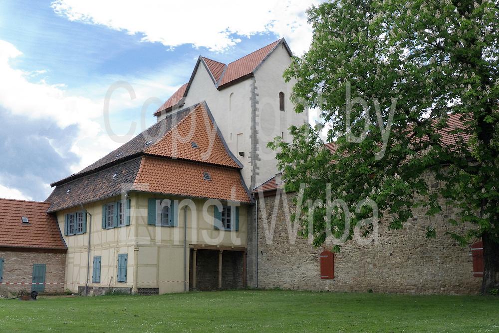 Herrenhaus 1786, Kloster Wendhusen, Thale, Harz, Sachsen-Anhalt, Deutschland   Monastery Wendhusen, Thale, Harz, Saxony-Anhalt, Germany