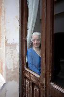 Anziana persona abitante di Alessano