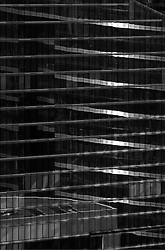 BRUSSELS, BELGIUM - Abstract view of glass office tower in downtown Brussels. (Photo © Jock Fistick)