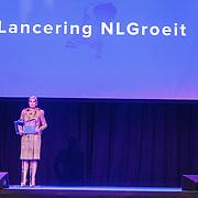 NLD/Rotterdam/20160113 - NL Groeit 2015, opening door Konining Maxima