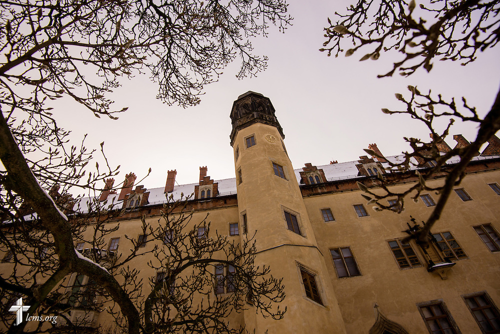 Exterior of the Luther House on January 30, 2014 in Wittenberg, Germany. LCMS Communications/Erik M. Lunsford