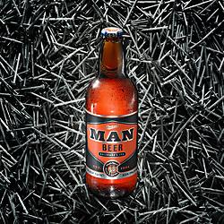 """Tough as Nails"" - Man Beer by Bull & Bush Brewery"