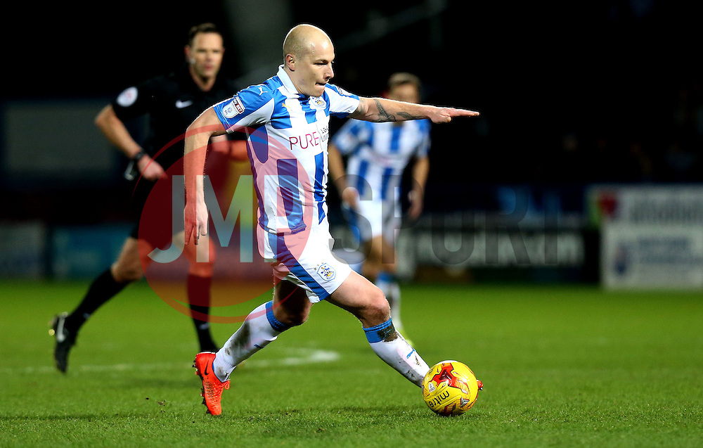Aaron Mooy of Huddersfield Town runs with the ball - Mandatory by-line: Robbie Stephenson/JMP - 02/02/2017 - FOOTBALL - John Smith's Stadium - Huddersfield, England - Huddersfield Town v Brighton and Hove Albion - Sky Bet Championship