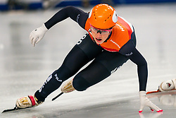 Short tracker Suzanne Schulting in action on 1500 meter semifinals during ISU European Short Track Speed Skating Championships 2020 on January 25, 2020 in Fonix Hall, Debrecen, Hungary